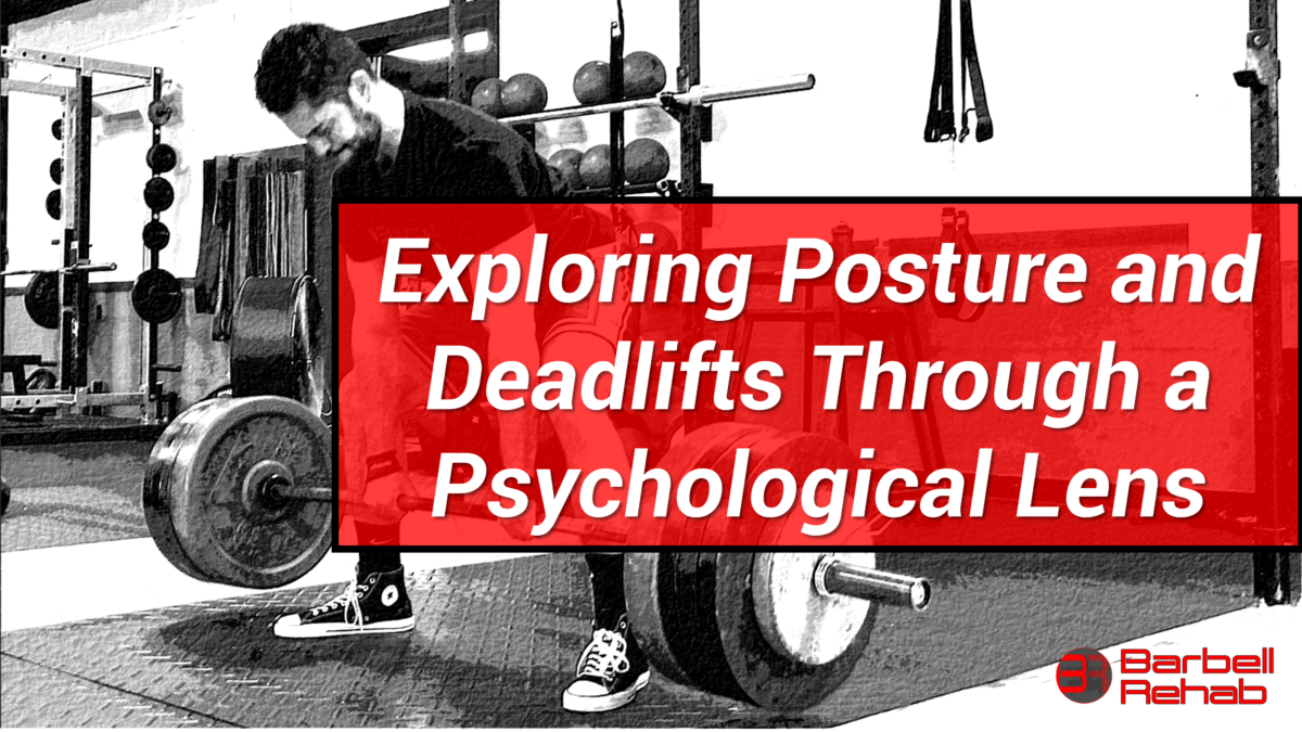 posture and deadlifts
